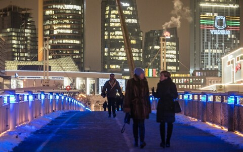 Vilnius Eesti lipuvärvides