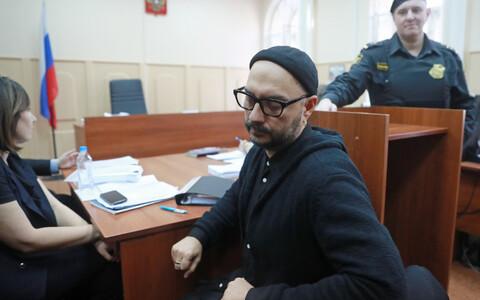 Vene lavastaja Kirill Serebrennikov Moskva kohtus 2018. aasta jaanuaris.