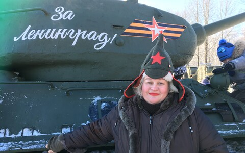 Celebrating the Red Army's 100th anniversary in Ivangorod