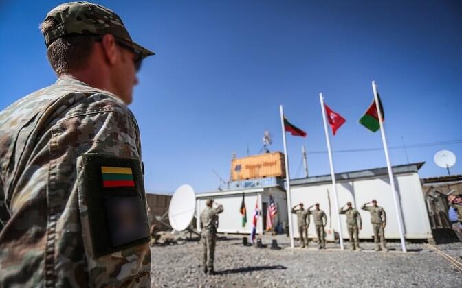 Leedu sõdurid Afganistanis.