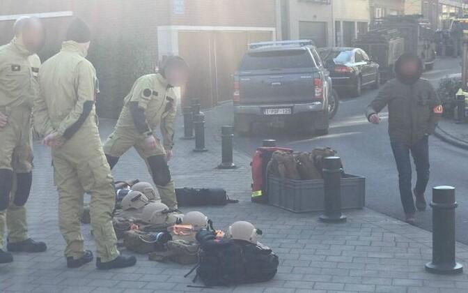 ВБрюсселеЧП: милиция оцепила строение свооруженными злоумышленниками