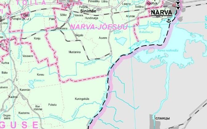 Plaanitav patrullrada võiks olla kuni kolm meetrit lai ning jääda Narva jõest maksimaalselt viiekümne meetri kaugusele.