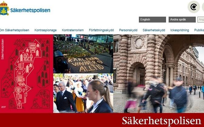 Rootsi kaitsepolitsei ehk Säkerhetspolisen.