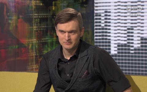 Mustkunstnik ja Eesti Laulu finaali saatejuht Meelis Kubo