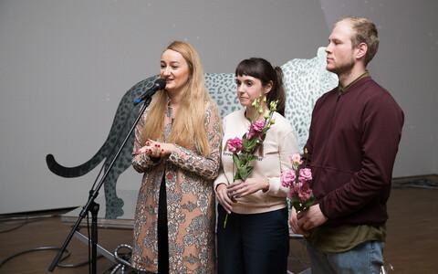 Открытие выставки Кати Новичковой в KUMU.
