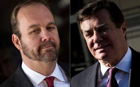 Rick Gates ja Paul Manafort.