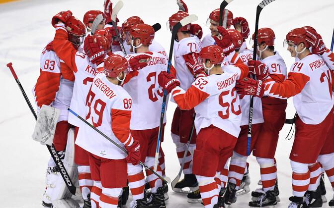 Сборная России вышла в финал хоккейного турнира на Олимпиаде.