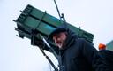 Kaitseminister Jüri Luik, taustal USA õhutõrjesüsteem Patriot