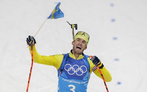 Фредрик Линдстрём приносит победу сборной Швеции.