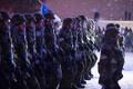 Kaitsejõudude paraadi peaproov Vabaduse väljakul