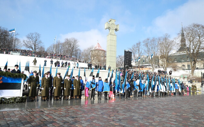 Estonia Marks 100 Years Since Its Independence Declaration