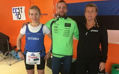 Eesti ultrajooksjad Soomes