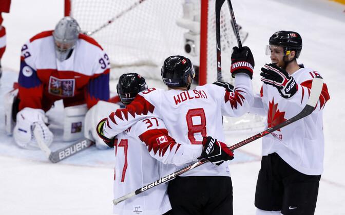 Хоккеисты сборной Канады завоевали бронзовые медали Олимпиады 2018.