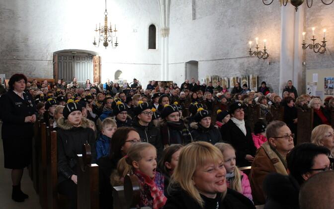 Haapsalu toomkirikus peeti kontsert-jumalateenistus, millele järgnes vabaõhuaktus Haapsalu lossiplatsil asuval lipuväljakul. Tseremoonia lõpus asetati läänlaste vabadussõja mälestussambale pärjad.