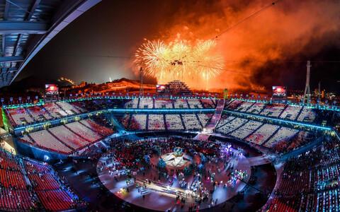 Церемония закрытия Игр-2018.