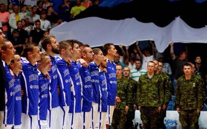 В родных стенах сборная Эстонии по баскетболу способна дать бой любому сопернику.