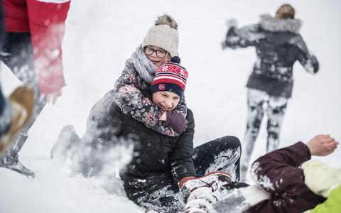 Зима и холода не спешат покидать Эстонию.