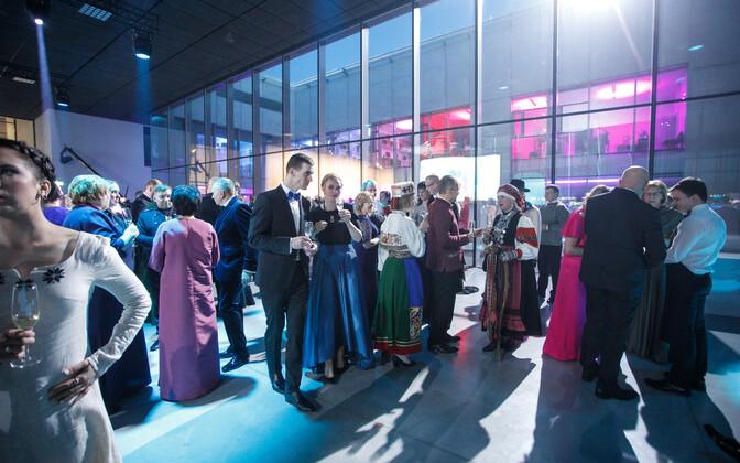 Presidendi vastuvõtt Eesti Rahva Muuseumis