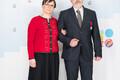 Riikliku teaduspreemia laureaat Heiki Valk ja folkorist Mari-Ann Remmel.