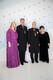 EELK peapiiskop Urmas Viilma ja abikaasa Egle ning Eesti kirikute nõukogu president, peapiiskop emeritus Andres Põder ja abikaasa Marje.