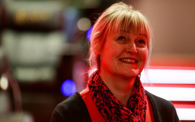 Директор Эстонского института кинематографии Эдит Сепп.