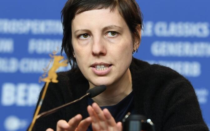 Berliini festivali peaauhinna võitja, rumeenia filmirežissöör Adina Pintilie.