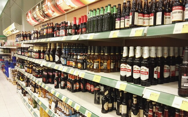 Алкоголь. Иллюстративная фотография