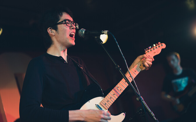 Car Seat Headrest klubis 100 Club Londonis, Inglismaal.