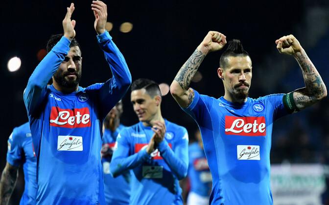 Napoli mängijad.
