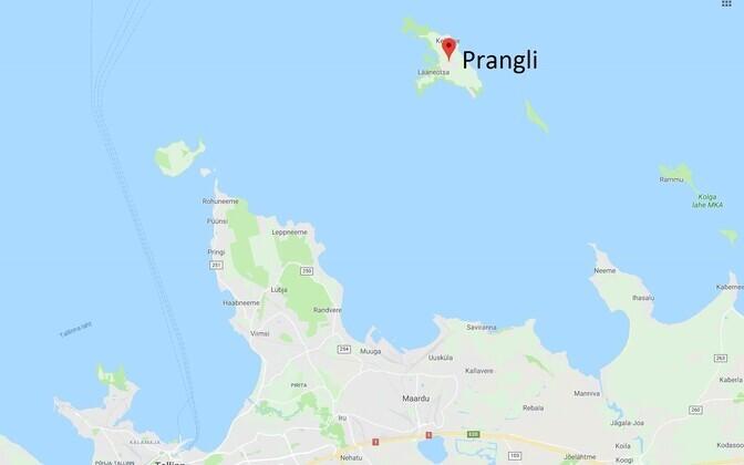 Prangli saar