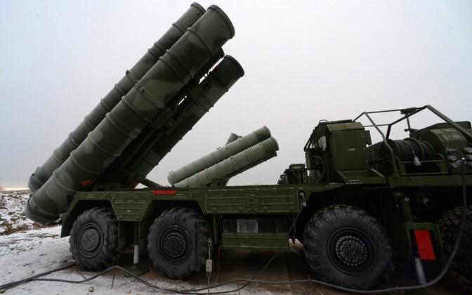 Raketisüsteem S-400.