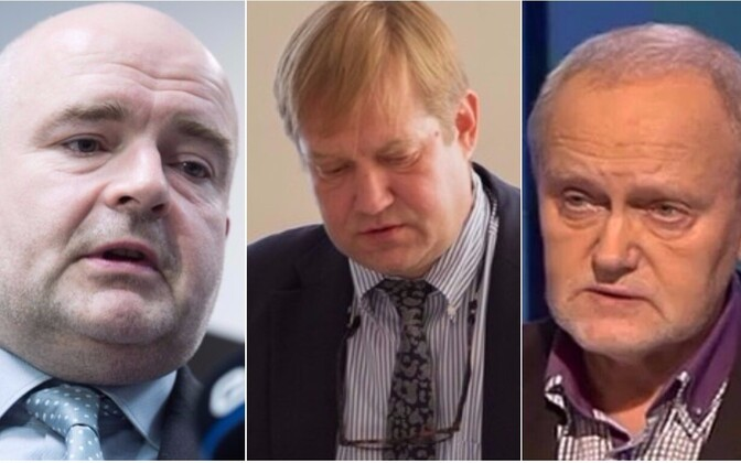 Andres Anvelt, Ivari Padar ja Jaak Allik.