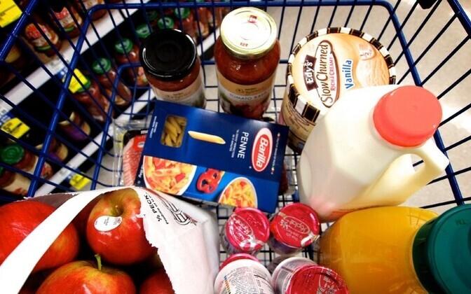 Импортные продукты нередко стоят намного дешевле эстонских.