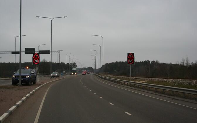Neljarajaline maantee.
