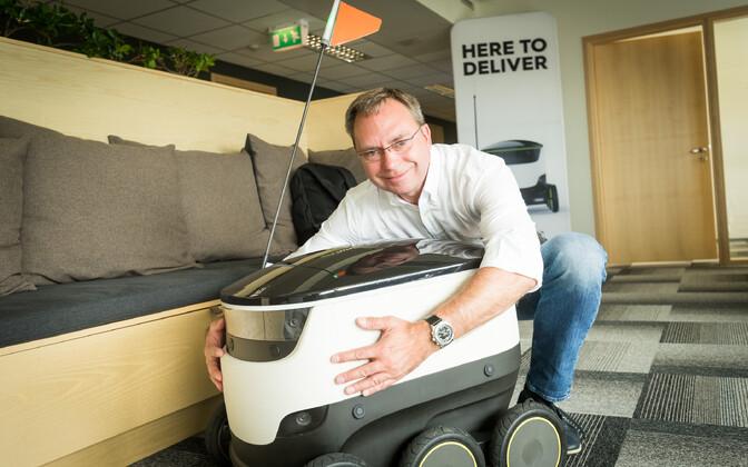 Ettevõtte Starship Technologies nüüdseks endine ärijuht Allan Martinson.