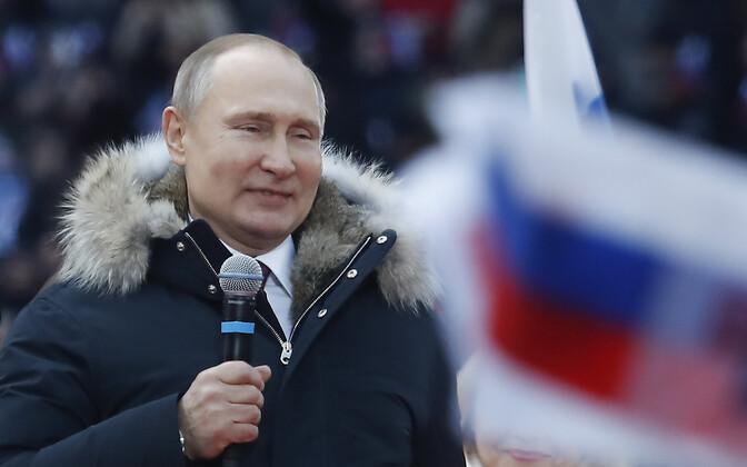 Venemaa president Vladimir Putin.