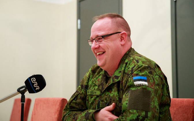 EDF's intelligence chief, Col. Kaupo Rosin.