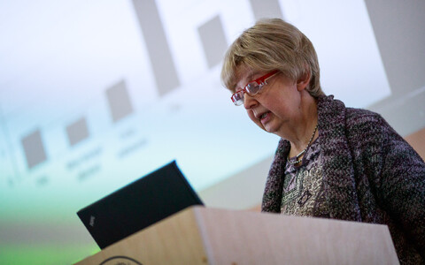 Estonian Institute of Economic Research Director Marje Josing.