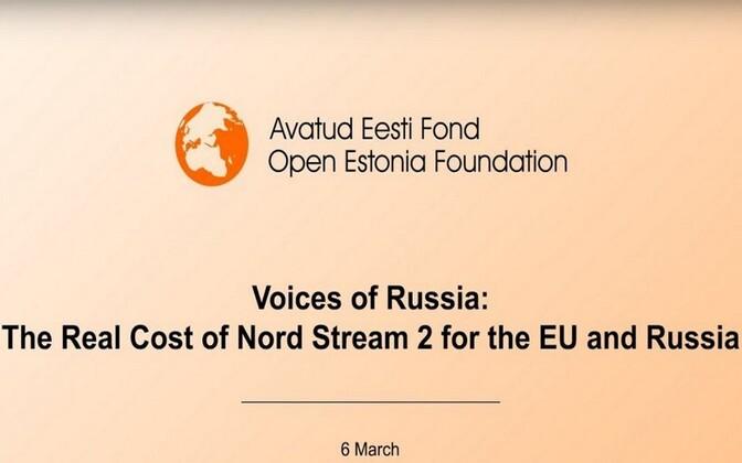 Venemaa Hääled: Nord Stream 2 tõeline hind Euroopa Liidule ja Venemaale