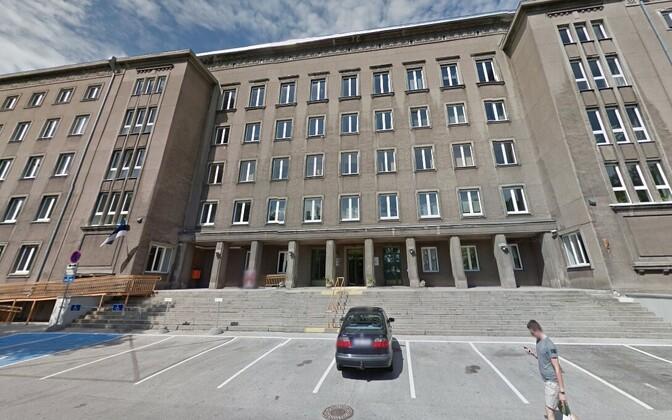 Sotsiaalministeeriumi endine hoone.