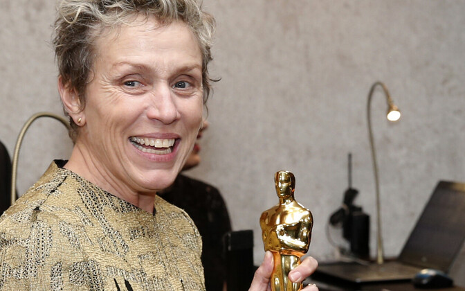 Frances McDormand Oscariga