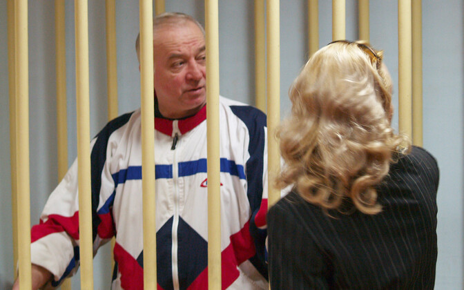 Sergei Skripal in a Moscow court in 2006.