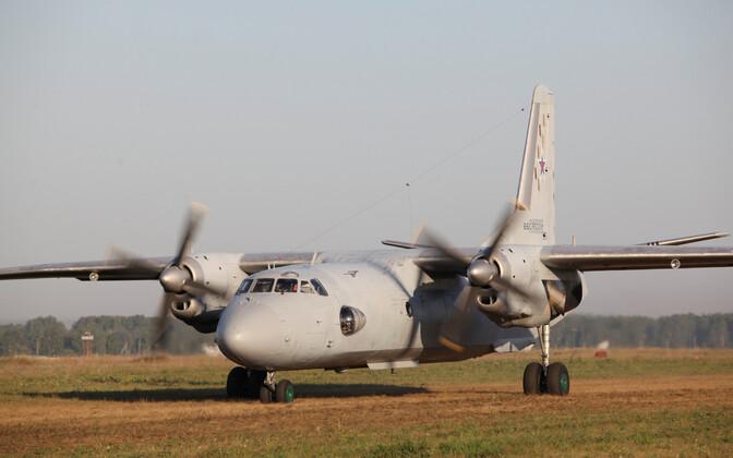 Vene relvajõudude transpordilennuk An-26.