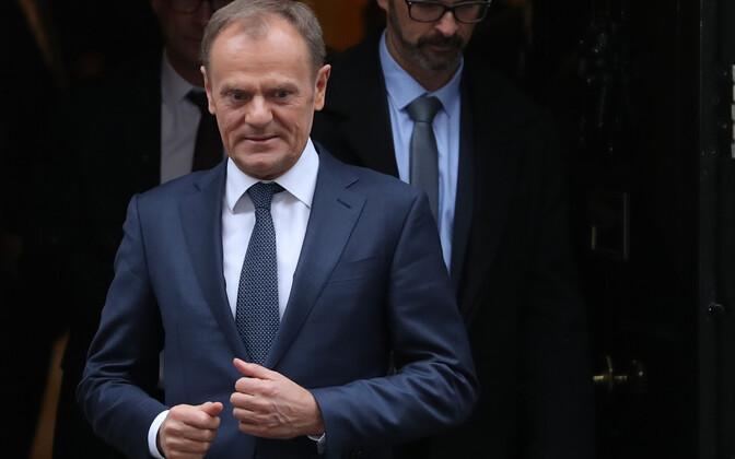 EuroopaÜlemkogu alaline eesistuja DonaldTusk.