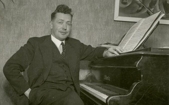 Alfred Karindi kodus Pelgulinnas 1936. aastal.