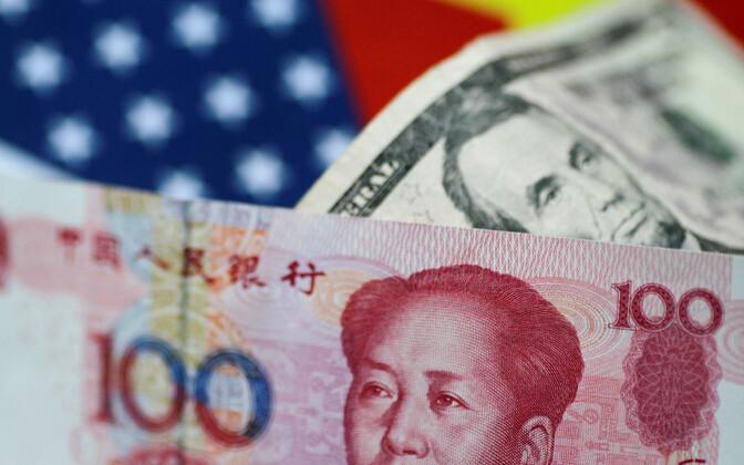 USA dollarid ja Hiina jüaanid.