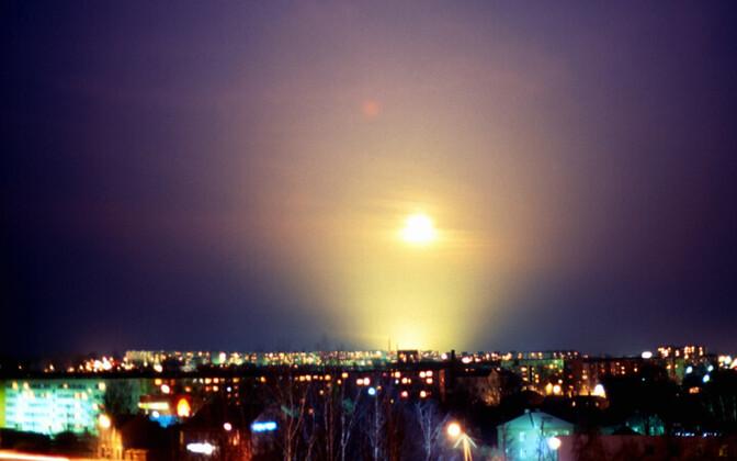 Vaade öisele Annelinnale