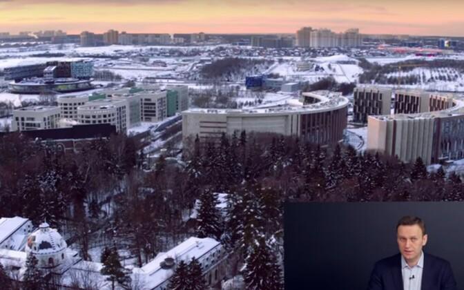 Aleksei Navalnõi ja droonivideo Šuvalovi villa lähistel.