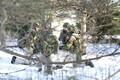 Scoutspataljoni ajateenijad harjutasid koostegutsemist.