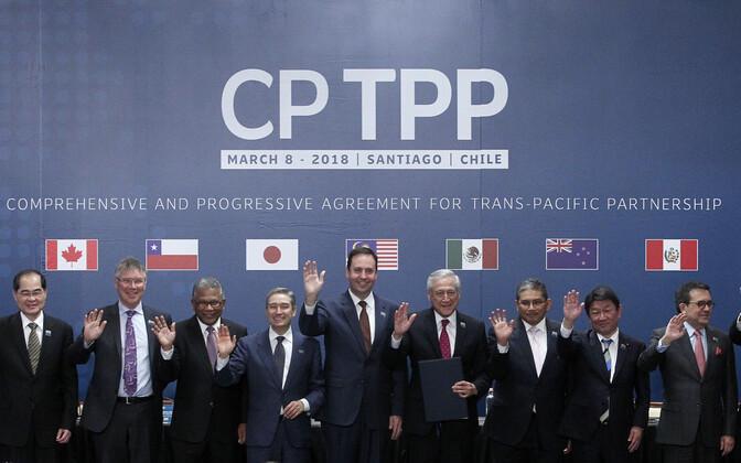 Riigid allkirjastasid CPTPP leppe.